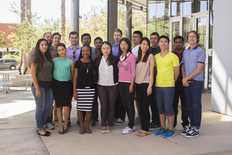 graduate student group photo 2016, University of Arizona, Tucson